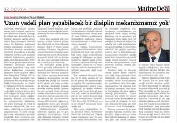 Uzun vadeli plan yapabilecek bir disiplin mekanizmamız yok