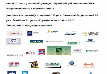 Proje ortaklarımıza teşekkür ederiz