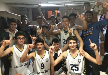 İzmit ihtisas basketbol U16 A Kocaeli 1.si oldu