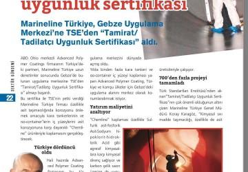 Denizcilik Dergisi Mart Nisan Sayısı